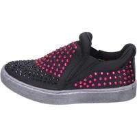 Pantofi Fete Pantofi Slip on Lulu BT332 Negru
