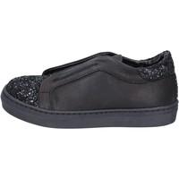 Pantofi Fete Pantofi Slip on Holalà BT357 Negru