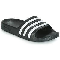Încăltăminte Copii Șlapi adidas Originals ADILETTE AQUA K Negru / Alb