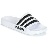 Pantofi Șlapi adidas Performance ADILETTE SHOWER Alb / Negru