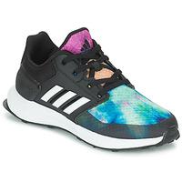 Pantofi Fete Trail și running adidas Performance RAPIDARUN X K Negru