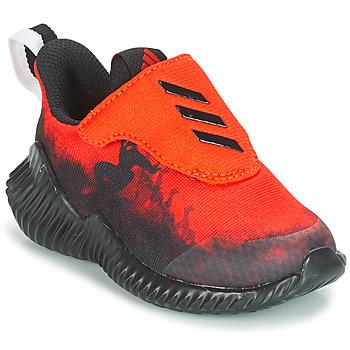 Pantofi Băieți Trail și running adidas Performance FORTARUN SPIDER-MAN Roșu / Negru