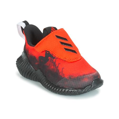 Încăltăminte Băieți Trail și running adidas Performance FORTARUN SPIDER-MAN Roșu / Negru
