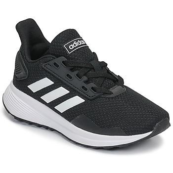 Pantofi Copii Trail și running adidas Performance DURAMO 9 K Negru / Alb