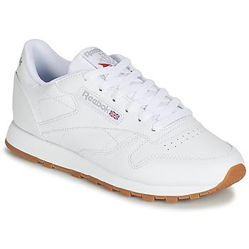 Pantofi Femei Pantofi sport Casual Reebok Classic CL LTHR Alb