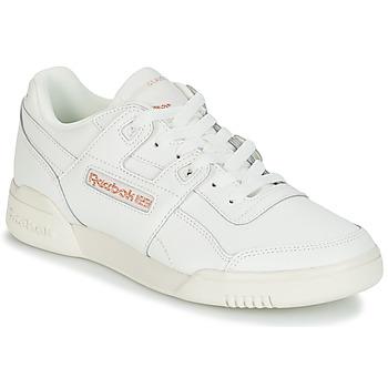 Încăltăminte Femei Pantofi sport Casual Reebok Classic WORKOUT LO PLUS Alb