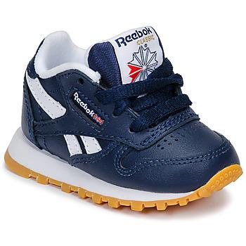 Pantofi Băieți Pantofi sport Casual Reebok Classic CLASSIC LEATHER Albastru / Alb