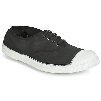 Pantofi Bărbați Pantofi sport Casual Bensimon TENNIS LACETS Carbone