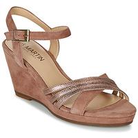 Pantofi Femei Sandale și Sandale cu talpă  joasă JB Martin QUOLIDAYS Camel