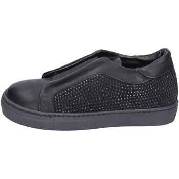 Pantofi Fete Pantofi Slip on Holalà BT374 Negru