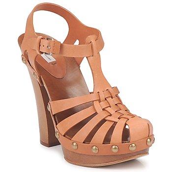 Încăltăminte Femei Sandale și Sandale cu talpă  joasă Marc Jacobs MJ18051 Bej