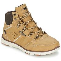 Pantofi Băieți Ghete Kangaroos BLUERUN 2098 Bej