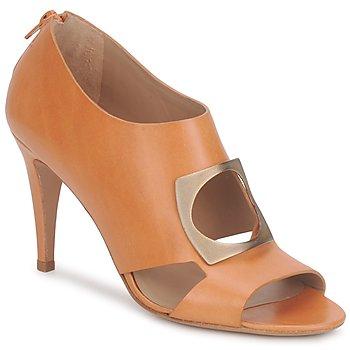 Pantofi Femei Botine Kallisté FLORA Camel