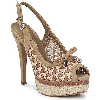 Pantofi Femei Sandale și Sandale cu talpă  joasă Stéphane Kelian LUDILOU Dune-argilĂ