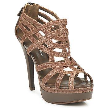 Pantofi Femei Sandale și Sandale cu talpă  joasă Stéphane Kelian LOULOU ArgilĂ