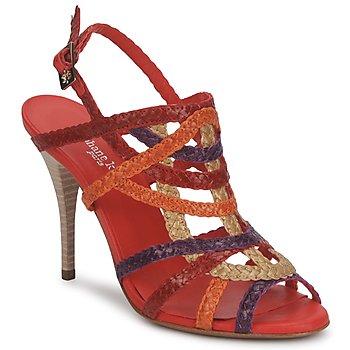 Pantofi Femei Sandale și Sandale cu talpă  joasă Stéphane Kelian OPERA Bronz-multicolor