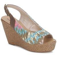 Pantofi Femei Sandale și Sandale cu talpă  joasă Sans Interdit RICO  multicolor