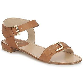 Pantofi Femei Sandale și Sandale cu talpă  joasă Stuart Weitzman BEBOP Maro