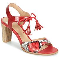 Pantofi Femei Sandale și Sandale cu talpă  joasă Perlato RUBY Roșu