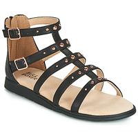 Pantofi Fete Sandale și Sandale cu talpă  joasă Bullboxer AGG021 Negru