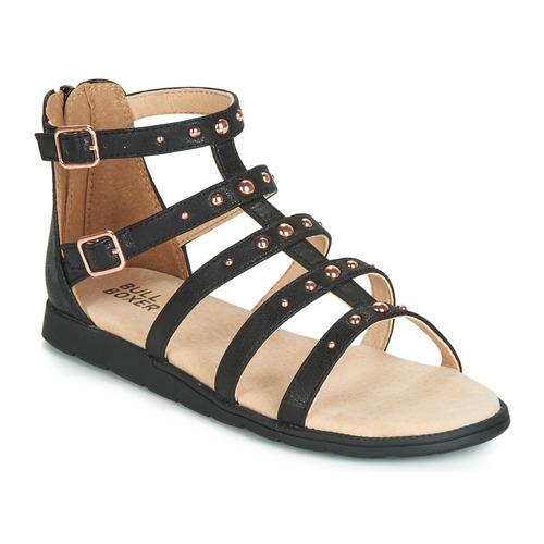 Pantofi Fete Sandale  Bullboxer AGG021 Negru
