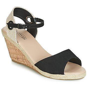 Pantofi Femei Sandale și Sandale cu talpă  joasă Spot on F2265 Negru