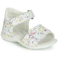 Pantofi Fete Sandale și Sandale cu talpă  joasă Primigi (enfant) 3407033 Alb