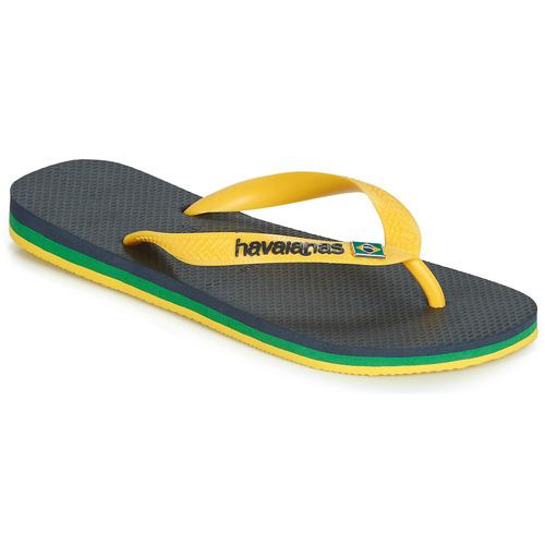 Pantofi  Flip-Flops Havaianas BRASIL LAYERS Albastru