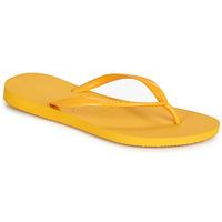 Pantofi Femei  Flip-Flops Havaianas SLIM Galben