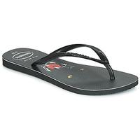 Pantofi Femei  Flip-Flops Havaianas SLIM ANIMAL PRINT Negru
