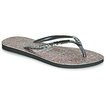 Pantofi Femei  Flip-Flops Havaianas SLIM CARNAVAL Negru