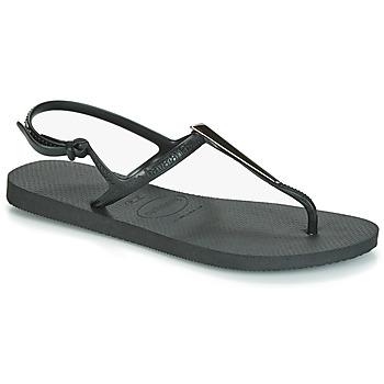 Pantofi Femei Sandale  Havaianas FREEDOM MAXI Negru