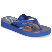Pantofi Băieți  Flip-Flops Havaianas KIDS MAX HEROIS Albastru
