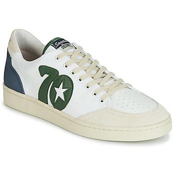 Pantofi Bărbați Pantofi sport Casual Kost SEVENTIES 14 Ecru / Verde / Albastru