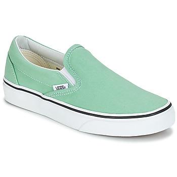 Încăltăminte Femei Pantofi Slip on Vans CLASSIC SLIP-ON Verde