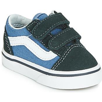 Pantofi Copii Pantofi sport Casual Vans OLD SKOOL V Bleumarin