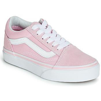 Pantofi Fete Pantofi sport Casual Vans OLD SKOOL Roz