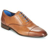 Pantofi Bărbați Pantofi Oxford Azzaro RAELAN Coniac