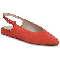 Pantofi Femei Balerin și Balerini cu curea Fericelli IKIRUA Roșu