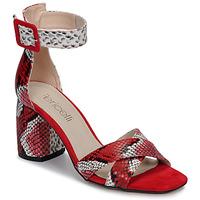 Pantofi Femei Sandale și Sandale cu talpă  joasă Fericelli JEZI Roșu