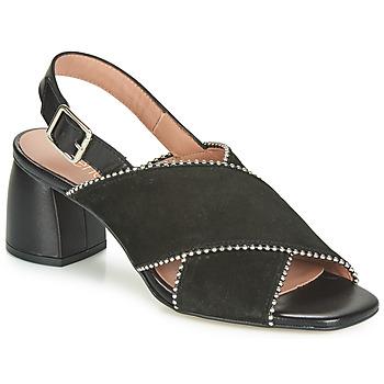 Pantofi Femei Sandale și Sandale cu talpă  joasă Fericelli JARIANI Negru