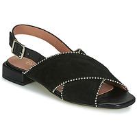 Pantofi Femei Sandale și Sandale cu talpă  joasă Fericelli JANELLE Negru