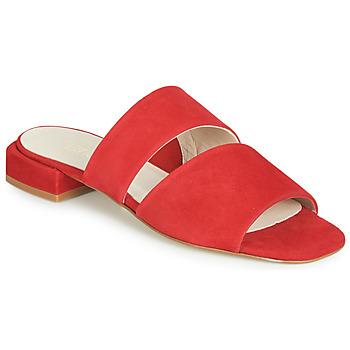 Pantofi Femei Papuci de vară Fericelli JANETTE Roșu