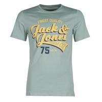 Îmbracaminte Bărbați Tricouri mânecă scurtă Jack & Jones JJELOGO Verde