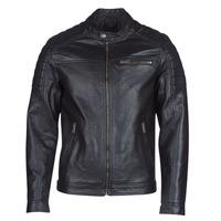 Îmbracaminte Bărbați Jachete din piele și material sintetic Jack & Jones JCOROCKY Negru