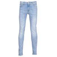 Îmbracaminte Bărbați Jeans slim Jack & Jones JJILIAM Albastru