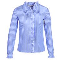 Îmbracaminte Femei Cămăși și Bluze Maison Scotch LONG SLEEVES SHIRT Albastru / LuminoasĂ