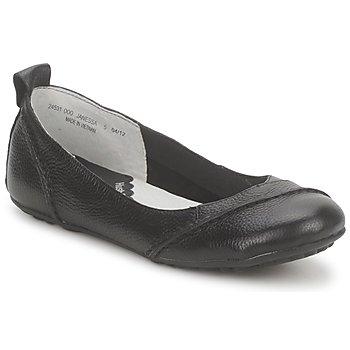 Pantofi Femei Balerin și Balerini cu curea Hush puppies JANESSA Negru