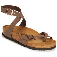 Pantofi Femei Sandale și Sandale cu talpă  joasă Birkenstock YARA Maro