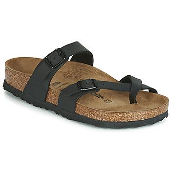 Pantofi Femei Papuci de vară Birkenstock MAYARI Black